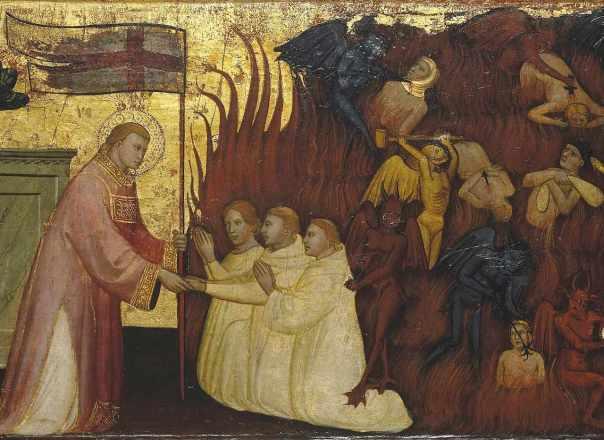 Sao Lourenço libera almas do Purgatorio. Lorenzo di Nicolò.jpg